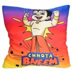 Chhota Bheem Cushion-Showing Strength(Gradient)
