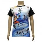 Boys Sublimation T Shirts - Black