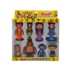 Action Figure 8 IN 1 Set - ( With Arjun)