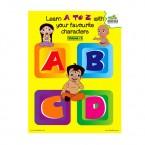 Chhota Bheem - Learn Alphabets
