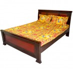 Double Bed Sheet - Red