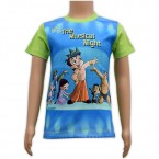 Sublimation T - Shirt - Blue & Green