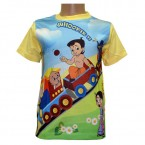 Sublimation T - Shirt - Light Yellow