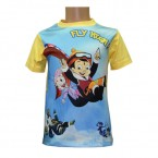 Sublimation T - Shirt - Yellow