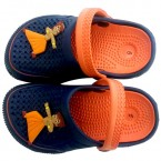 Chhota Bheem Clog - Navy & Orange