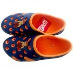 Chhota Bheem Clog - Orange & Navy