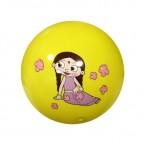 Chhota Bheem Decal Ball - Yellow