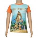 Sublimation T - Shirt - Blue & Orange