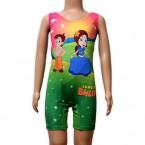 Chhota Bheem Girls Swimwear - Green