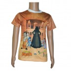 Journey to Petra-White Sleeves-Sublimation T-Shirt