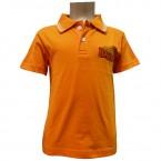 Boys Polo T-Shirt - Orange