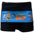 Chhota Bheem Boys Swim Shorts - Black & Blue
