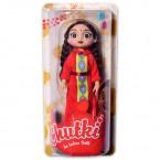 "Chutki Doll 9.5"" Red Dress"