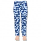 Chutki Girls Denim Pant-Ink Blue