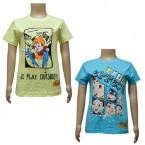 Boys T-Shirt Combo - Yellow & Blue