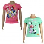 Girls Top Combo - Pink & Green