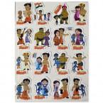 Chhota Bheem A4 Foam Stickers