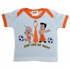 Infant Wear ( White & Orange)