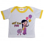 Infant Wear ( White & Yellow Chutki)