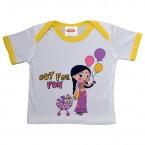 Infant Wear ( White & Yellow Chutki)