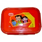 Lunch Box - Red & Yellow - (0655)