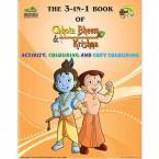The 3 in 1 Book of Chhota Bheem & Krishna