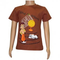 Chhota Bheem Boys T shirt - Brown