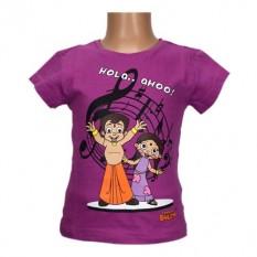 Chhota Bheem Girls Top - Megenta