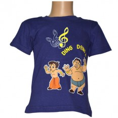 Chhota Bheem T - Shirt Navy Blue