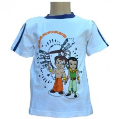 Chhota Bheem and Arjun T - Shirt White