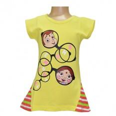 Chutki & Chhota Bheem Girls Top - Yellow