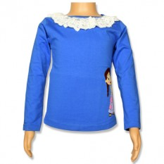 Chutki- Full Sleeve Top - Ampro Blue