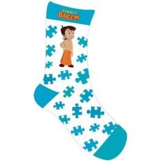 Chhota Bheem Socks - Sky Blue