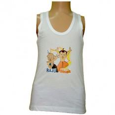 Raju And Chhota Bheem Boys Vest - Buy now