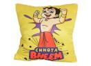 Chhota Bheem Cushion-Showing Strength(Yellow)