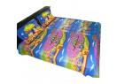 Chhota Bheem Double Bed Sheet - Blue